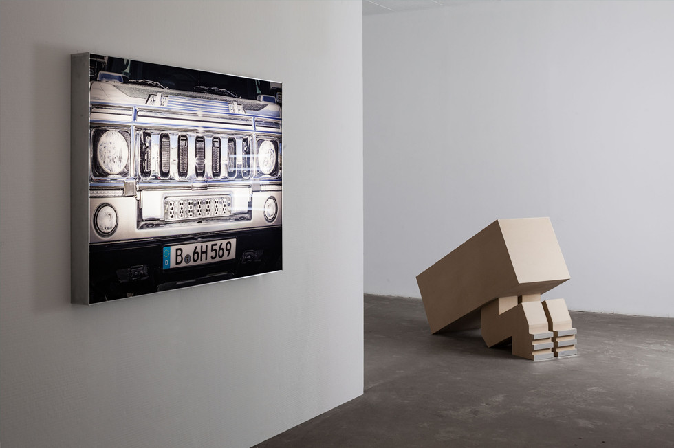תמונת אוירה של אינסטליישין בגלריה, Installation view, Alona Rodeh, photo credit Tal Nisim, גלריה רוזנפלד