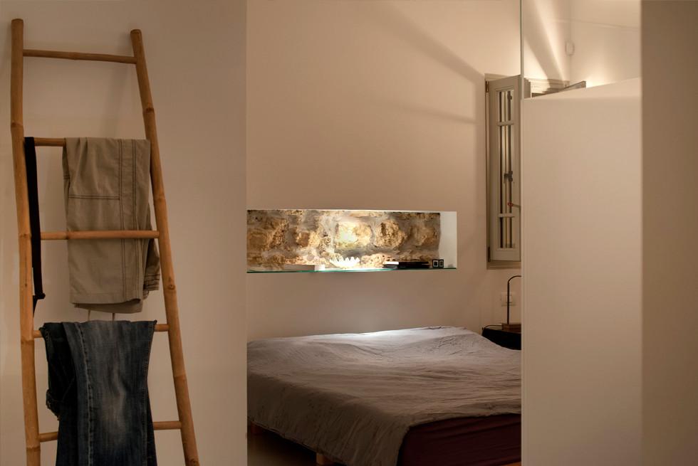 חדר השינה, צילום: עמרי אמסלם
