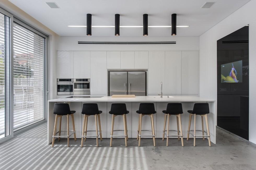 מטבח דקור, אדריכל מושיק חדידה, צילום: עודד סמדר