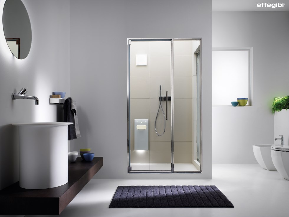 Private Sauna MODY מערכת חכמה הכוללת דלת ומערכת קיטור ההופכת את אזור הרחצה לסאונה ביתית איכותית