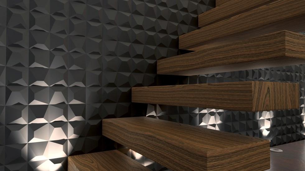 שפה חדשה של אריחי קירות תלת מימדיים