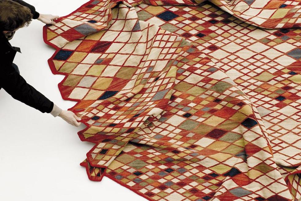 שטיח מקולקציית Losanges של המותג nani marquina בעיצוב האחים בורלק
