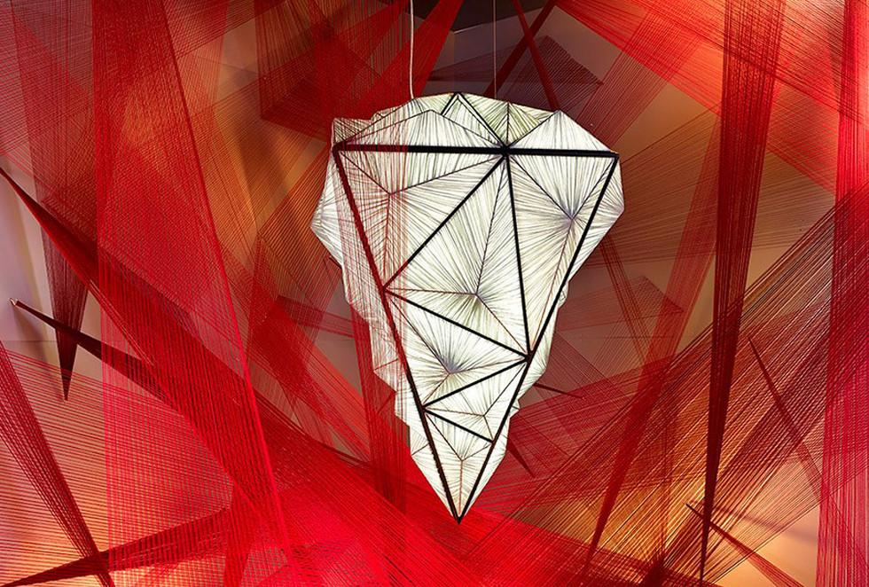 Zooid Diamond - גוף תאורה מעוצב של Aqua Creations