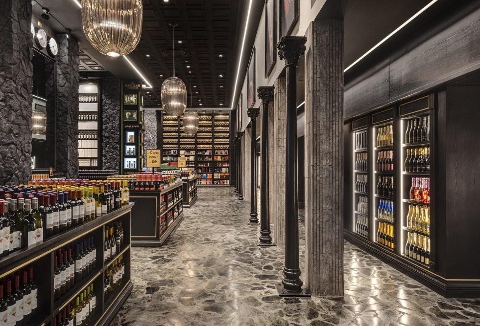 חנות הבוטיק החדשה של HERMITAGE בחיפה, תכנון מיקלה סימאונה