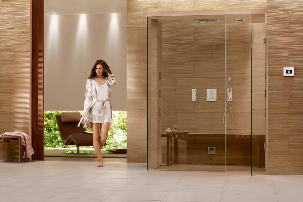 כל הפונקציות ניתנות לשליטה באופן מיידי, פשוט ואינטואיטיבי והופכות את המקלחת לספא לפי מצב הרוח