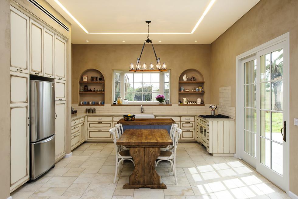 המטבח המרווח, צילום: מושי גיטליס