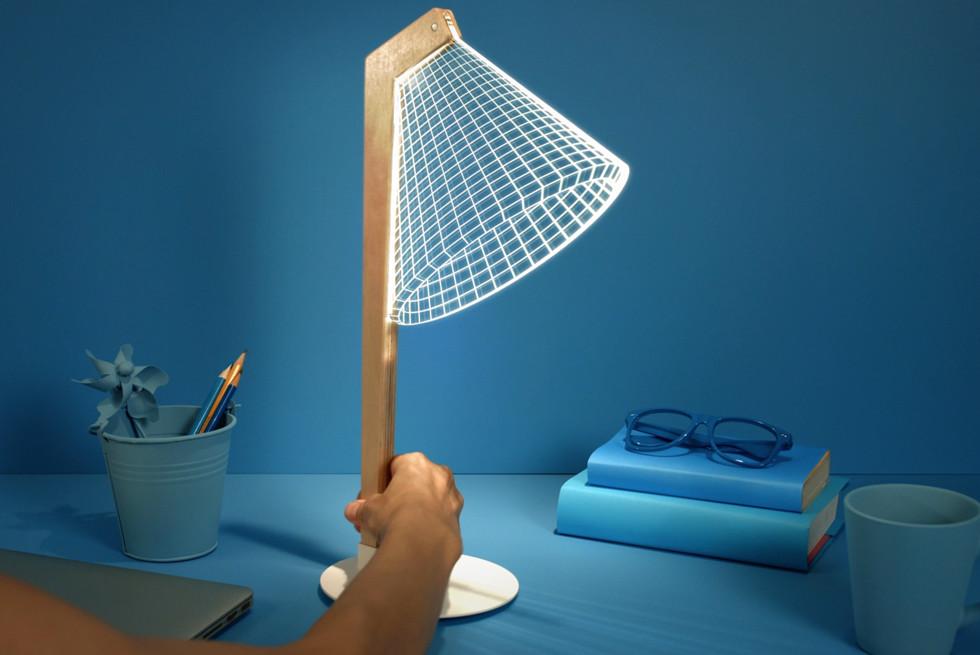 דגם DESKi - מנורת קריאה מקורית
