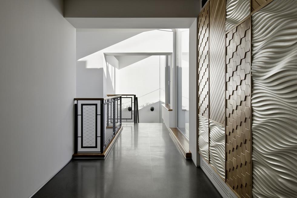 מערכת אינטרקום כוללת של HOMTECH בכל הבית, צילום: Studio Smadar - עודד סמדר