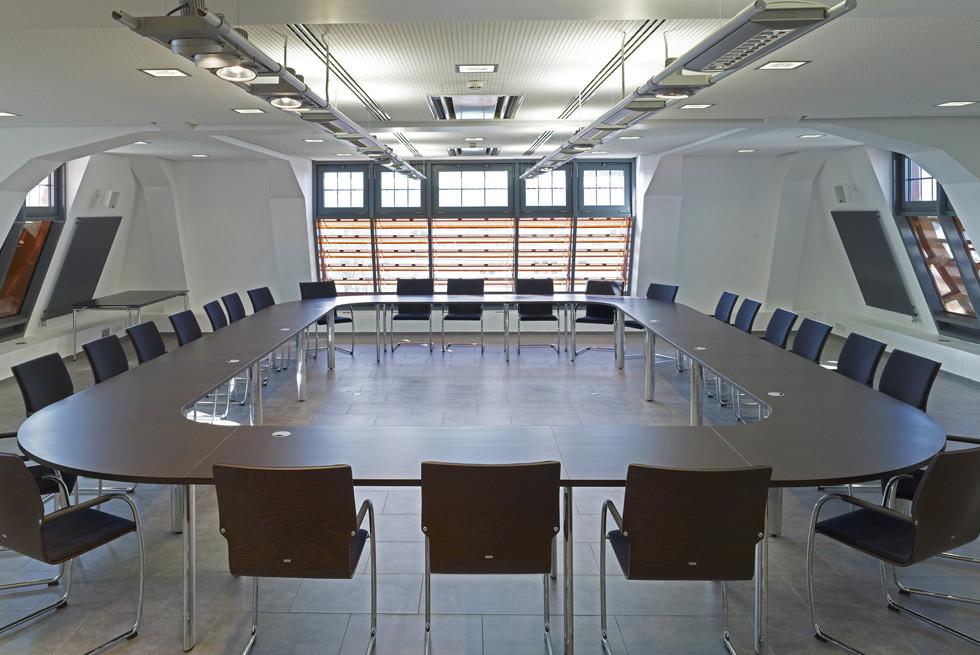 משרד המשפטים, מבט מתוך המבנה
