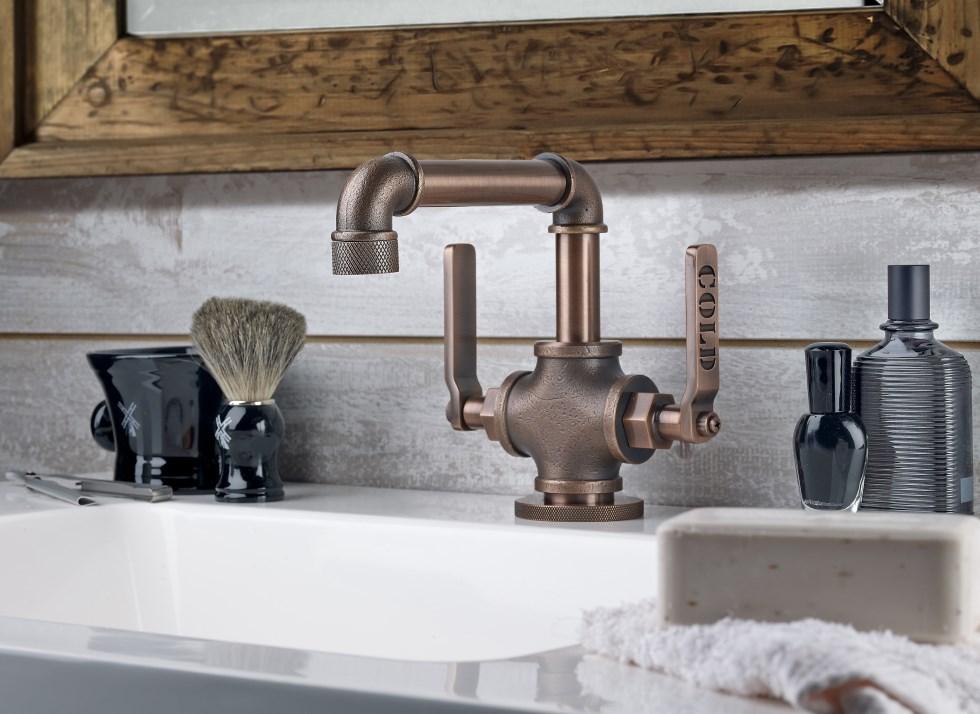 Elan mono lav sink flush
