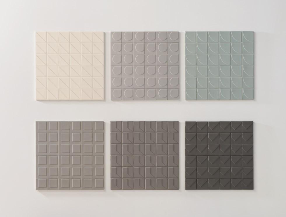 קולקציית האריחים Numi בעיצובKonstantin Grcic ברשת מודי