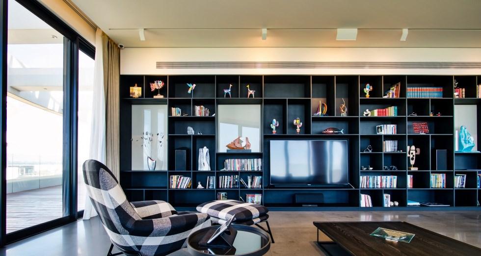 ספריית דומיסיל, עיצוב אילן פיבקו, צילום איתי סיקולסקי