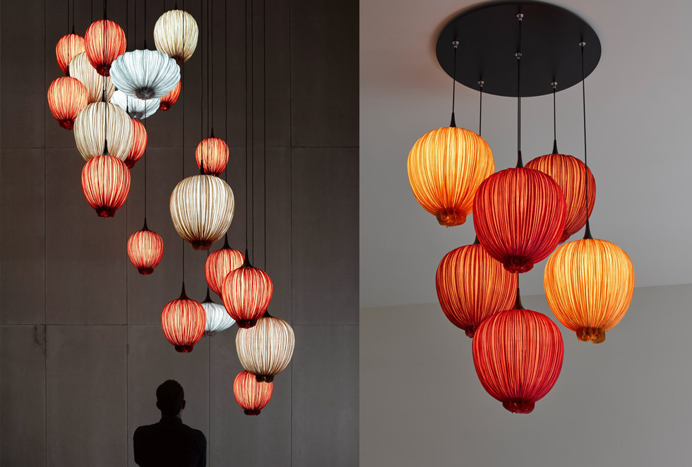 Aqua Creations - יצירות תאורה המוצגות בכל רחבי העולם
