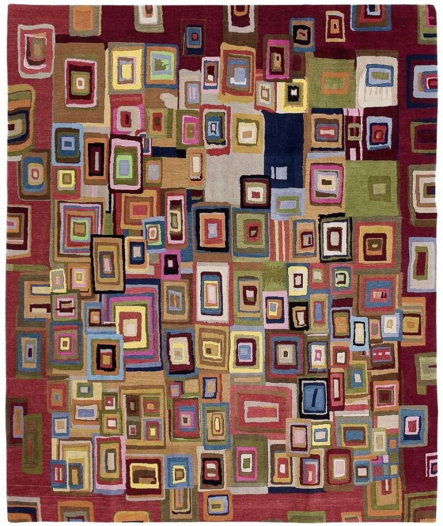 שטיח אומנותי - צמר שטיחים יפים